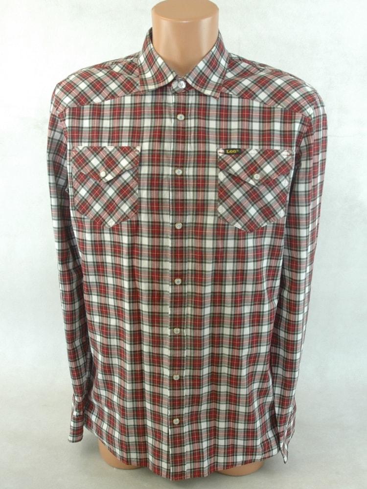 5538d5f272b Sekacmix.cz - Pánská károvaná košile Lee - Lee Cooper - Košile ...