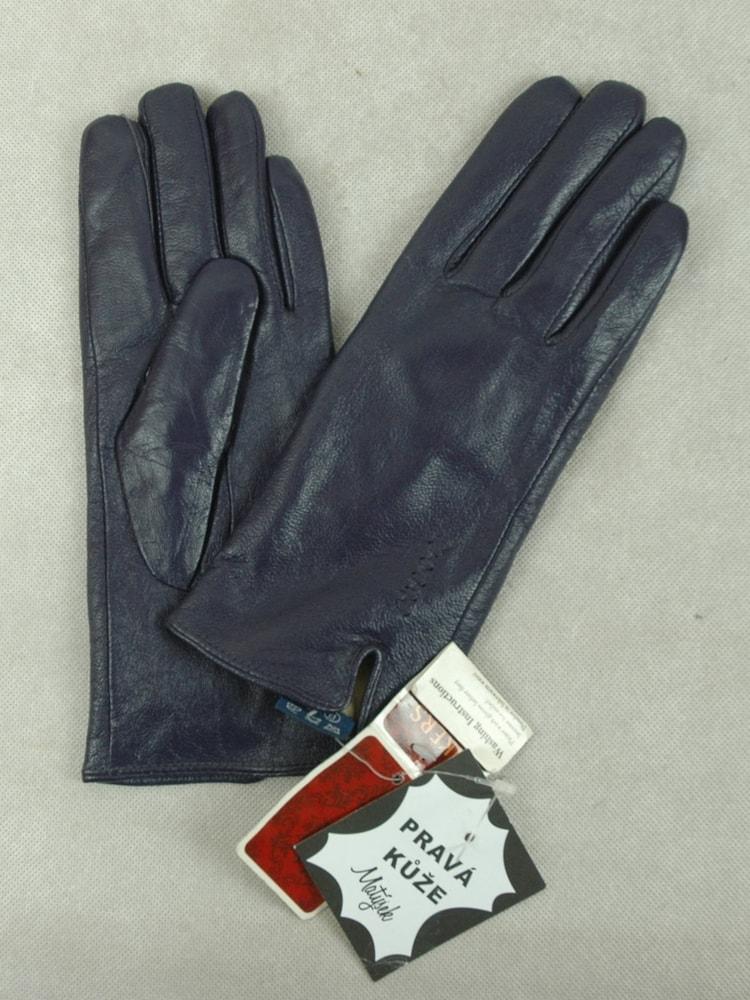 Sekacmix.cz - Nenošené kožené rukavice tmavě fialové - Čepice - šály ... 534eee1a49