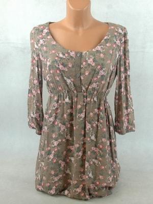 Sekacmix.cz - Květované šaty s 3 4 rukávem - Šaty - sukně - Dámské oděvy 1a2a9cc4b7